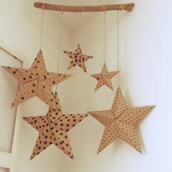 【折り紙・立体星】インテリアになるバーンスター折り方 | Okaeri
